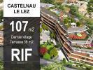 T4 luxe dernier étage avec terrasse 38 m2