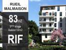 T4 de 83 m2 avec balcon de 12 m2
