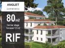 T4 80 m2 Dernier étage et terrasse de 12 m2