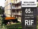 T3 de 65 m2 avec terrasse de 17 m2