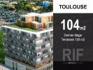 T4 de 104 m2 en dernier étage avec 130 m2 de terrasses