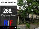 Maison 266 m² : 3 appartements + garage