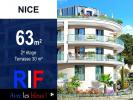 T3 63 m² avec terrasse 30 m²