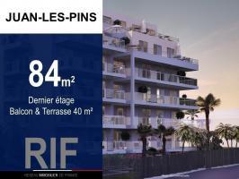 T4 84 m² avec terrasse et balcon 40 m²