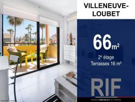 T3 de 66 m² avec terrasses