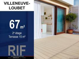 T3 de 67 m² avec terrasse