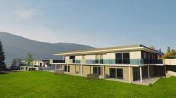 Appart neuf de type 4 de 100 m² avec une terrasse de 93 m² sud-ouest à Brison st Innocent