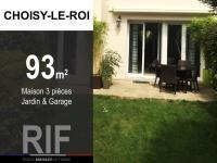 Maison 93 m² avec jardin et garage