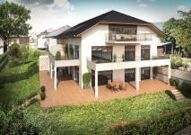 Trés bel appartement neuf de type T3 de 65 m² avec jardin de 255 m² à Brison Saint Innocent