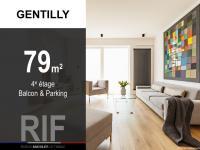 T4 de 79 m² avec balcon et parking