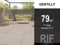 T4 de 79 m² avec terrasse de 61 m²