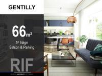 T3 de 66 m² avec balcon et parking