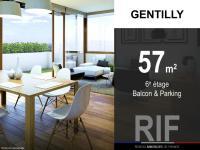 T3 de 57 m² avec balcon et parking