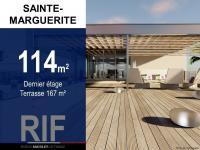 T4 de 114 m² en dernier étage