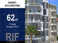 T3 62 m² avec terrasse de 15 m²