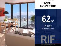 T3 62 m² avec terrasse 20 m²
