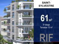 T3 61 m² avec terrasse 15 m²