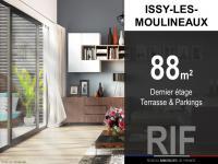 T4 de 88 m² avec terrasse et parkings