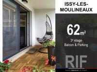 T3 de 62 m² avec balcon et parking