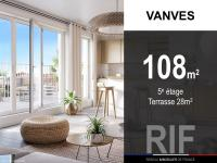 T4 de 108 m² avec terrasse de 28 m²