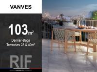 T5 de 103 m² avec terrasses