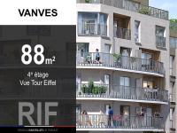 T4 de 88 m² avec balcon et parkings