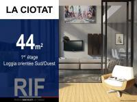 T2 de 44 m² avec loggia