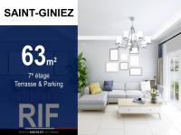 Appartement T3 de 63 m² avec terrasse