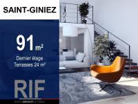 Duplex T4 de 91 m² avec terrasse