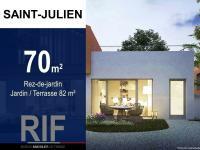 T3 de 70 m² avec jardin de 62 m²