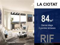 T4 de 84 m² avec 2 terrasses
