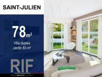 Villa T3 de 78 m² avec jardin