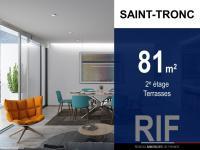 T4 de 81 m² avec terrasses