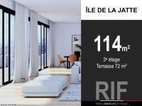T4 de 114 m² avec terrasse de 72 m²