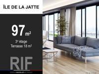 T3 de 97 m² avec terrasse de 18 m²
