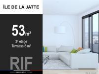 T2 de 53 m² avec terrasse de 6 m²