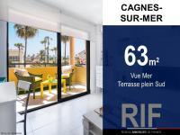 T3 de 63 m² avec vue mer