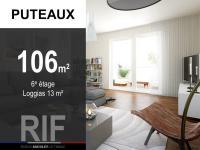T5 de 106 m² avec loggias et parkings