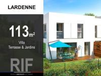 Villa de 113 m² avec terrasse et jardins