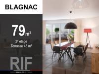 Appartement T4 de 79 m² avec terrasse