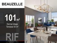 Appartement de 101 m² avec terrasse de 54 m²