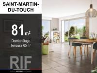 T4 de 81 m² avec terrasse 65 m²