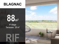 T4 de 88 m² avec terrasses