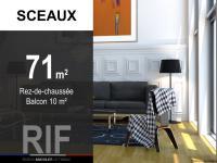 T3 de 71 m² avec un balcon de 10 m²