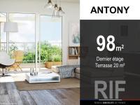 T5 de 98 m² avec terrasse de 20 m²