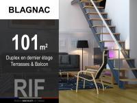 T4 de 101 m² avec terrasses