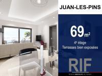 T3 69 m² avec terrasses bien exposées