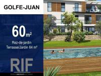 T3 60 m² avec terrasse et jardin