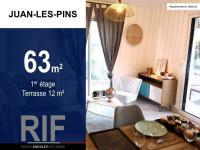 T3 63 m² avec terrasse 12 m²