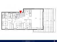 T4 de 88 m² avec terrasse